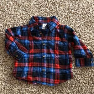 Carter's | Button down flannel